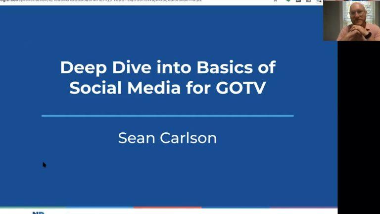 Deep Dive Into Basics Of Social Media For GOTV image