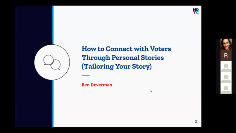 How To Connect With Voters Through Personal Stories (Tailoring Your Story) image