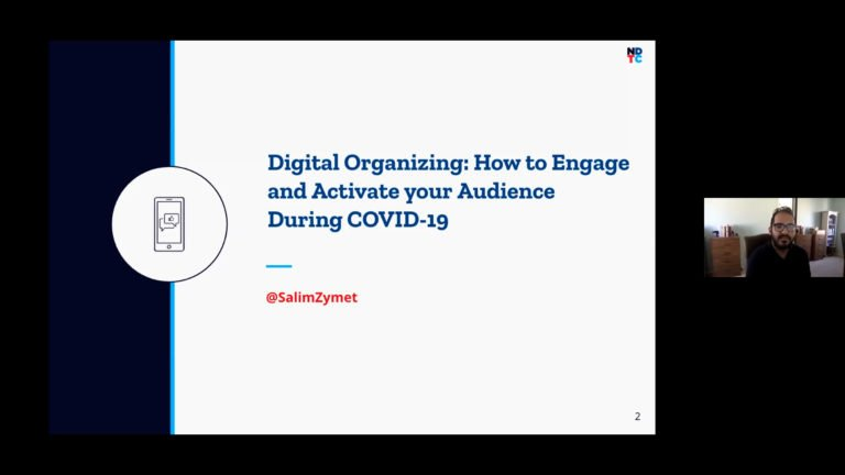 Digital Organizing: How To Engage And Activate Your Audience image