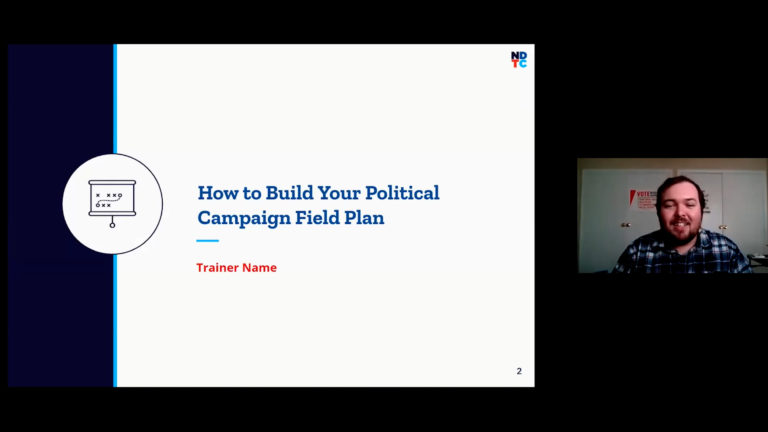How To Build Your Political Campaign Field Plan image
